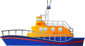 Lifeboat Stock Illustrations.