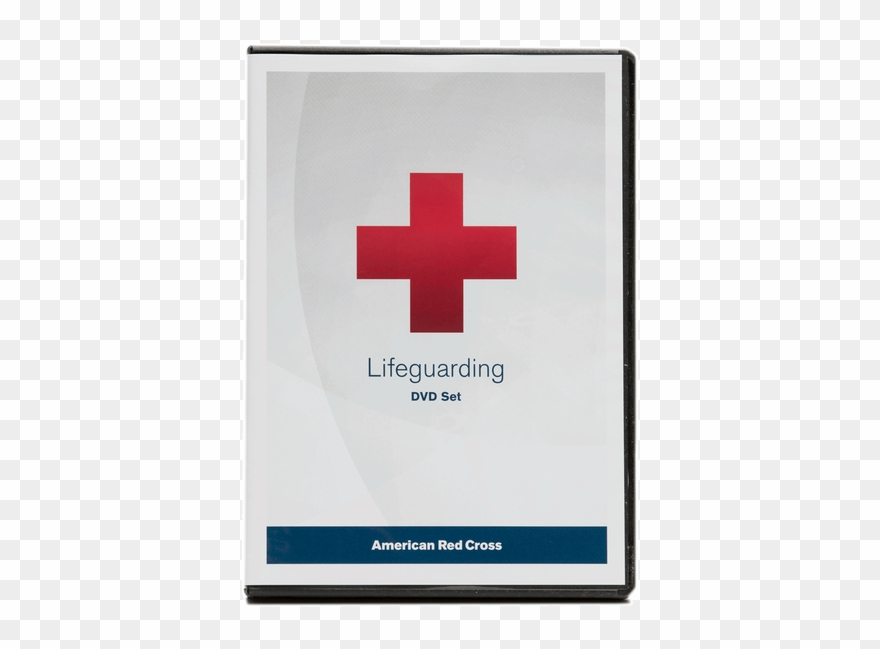 Red Cross Lifeguard Transparent Background.
