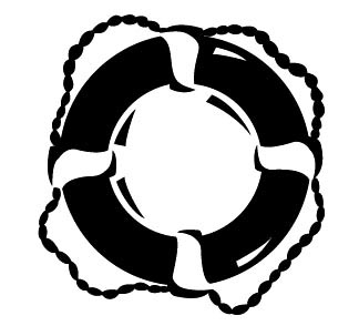 Free Life Preserver Clipart Black And White, Download Free.