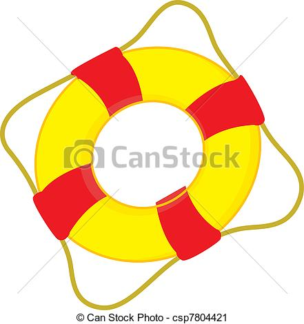 Clipart of Swimming tube.