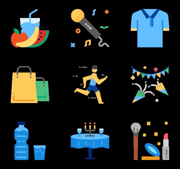 154 lifestyle icon packs.