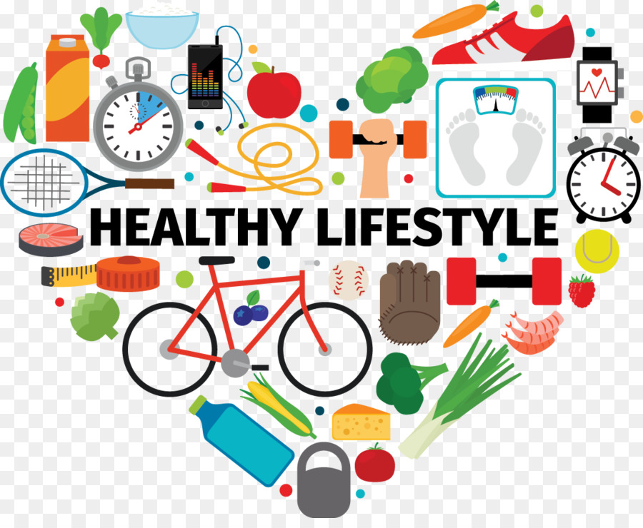 Healthy Lifestyle png download.