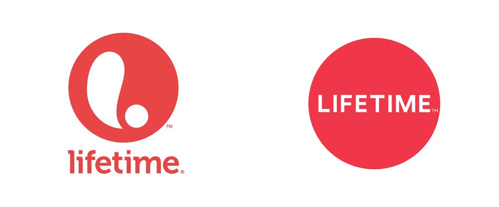 Brand New: New Logo for Lifetime.
