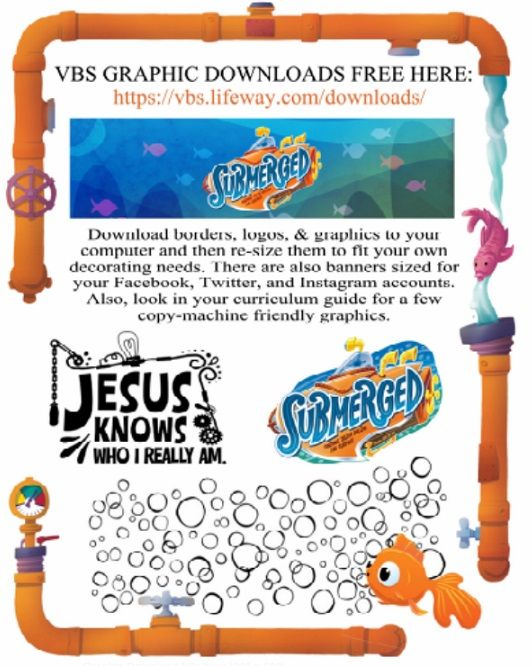 Kaufman County associational VBS training handout.