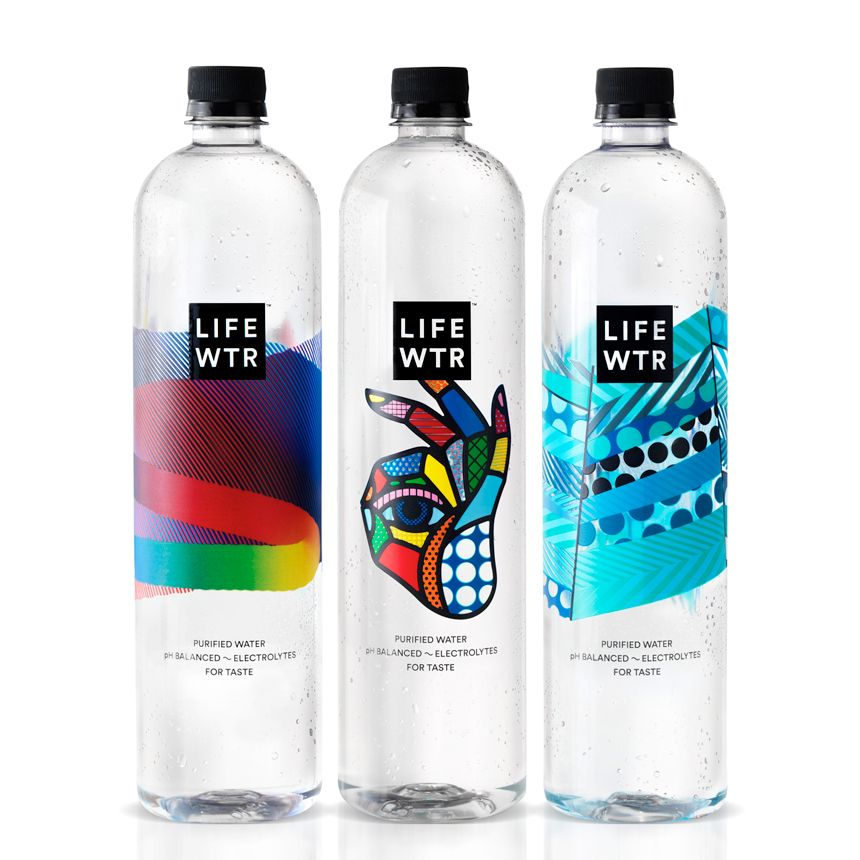 Pepsico Collaborates with Artists on their New Brand LIFEWTR.