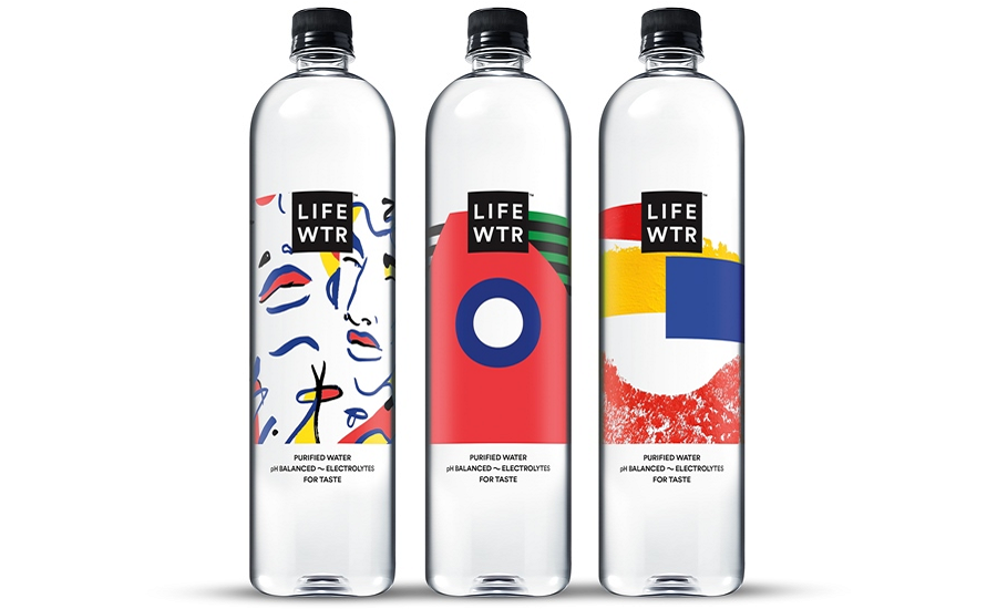 LIFEWTR Bottle Labels Feature Designs from Emerging Female.