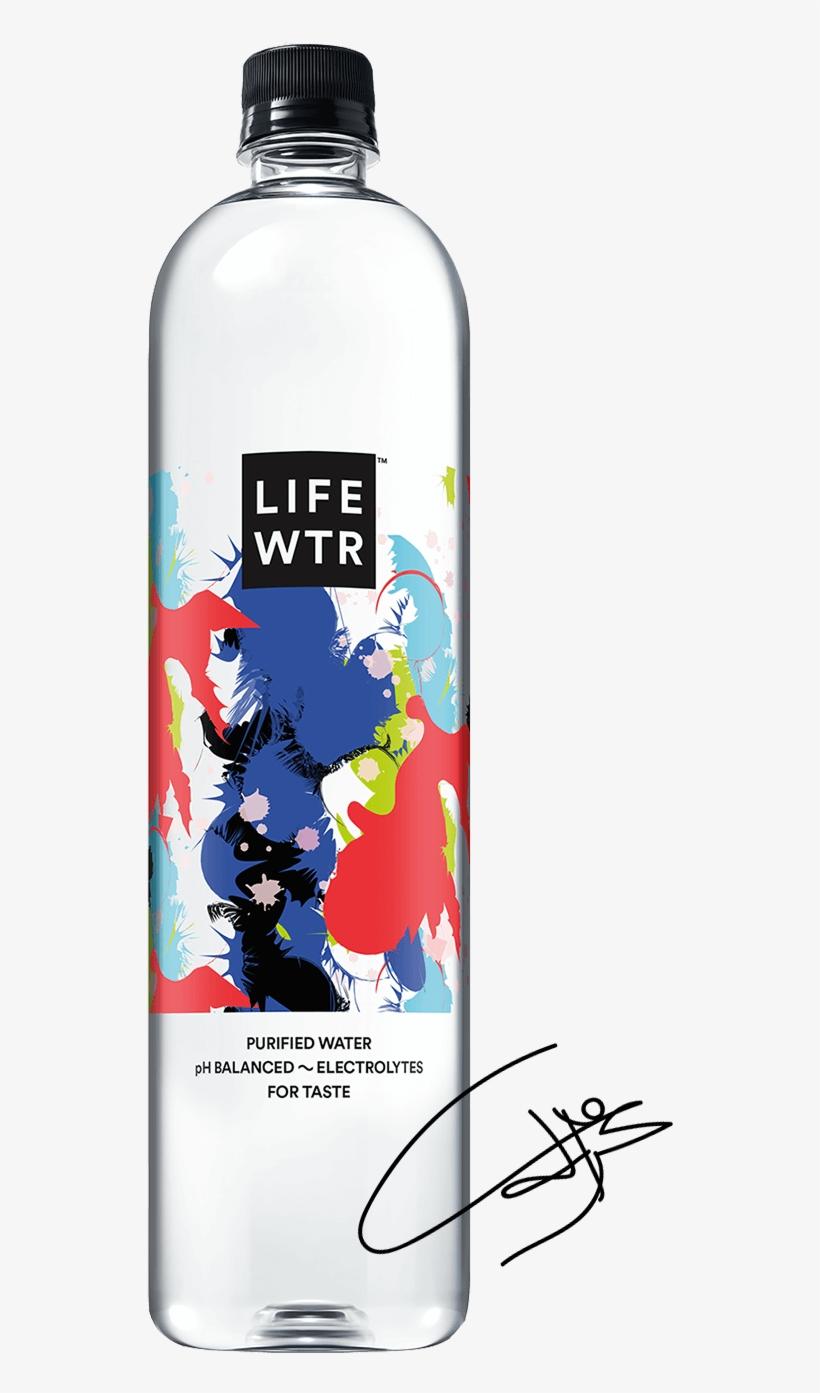 Lifewtr Bottle.