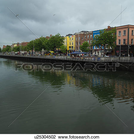 Stock Photo of Dublin Ireland.