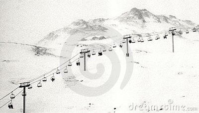 Abandoned Ski Lift Stock Photos, Images, & Pictures.