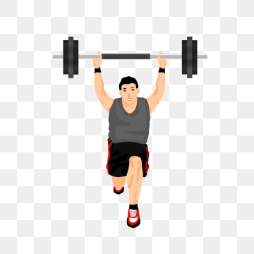 Lifting Weights Png, Vector, PSD, and Clipart With.