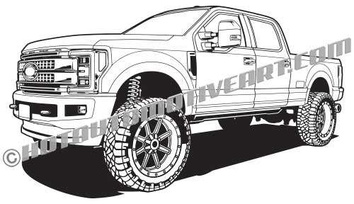 Lifted Truck 4x4.