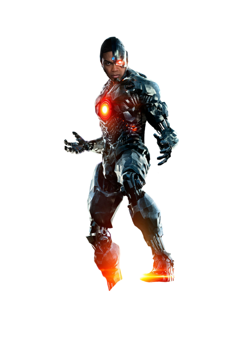 PNG Cyborg (Justice League, Liga Da Just #15765.