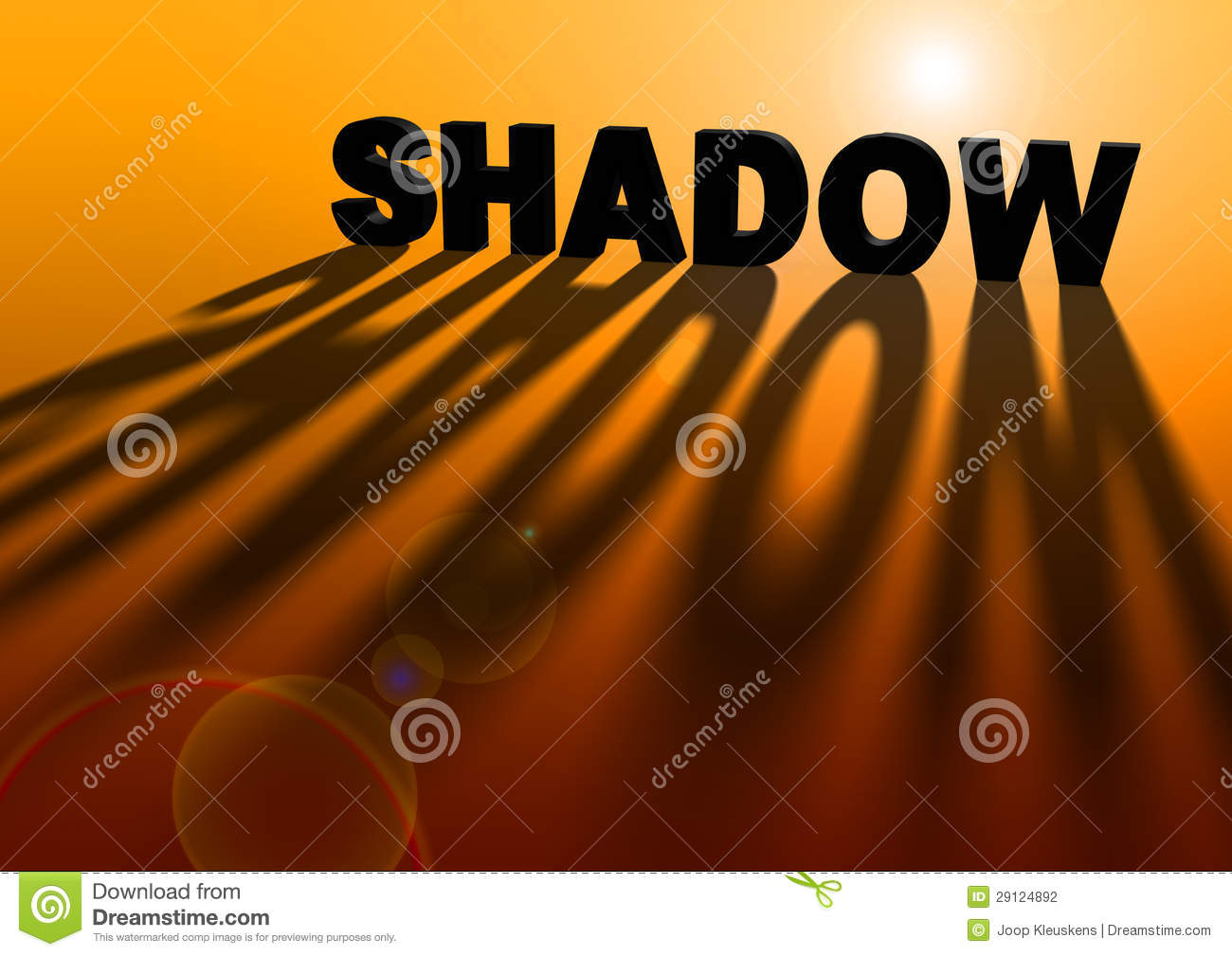 Light Create Shadow Stock Photography.