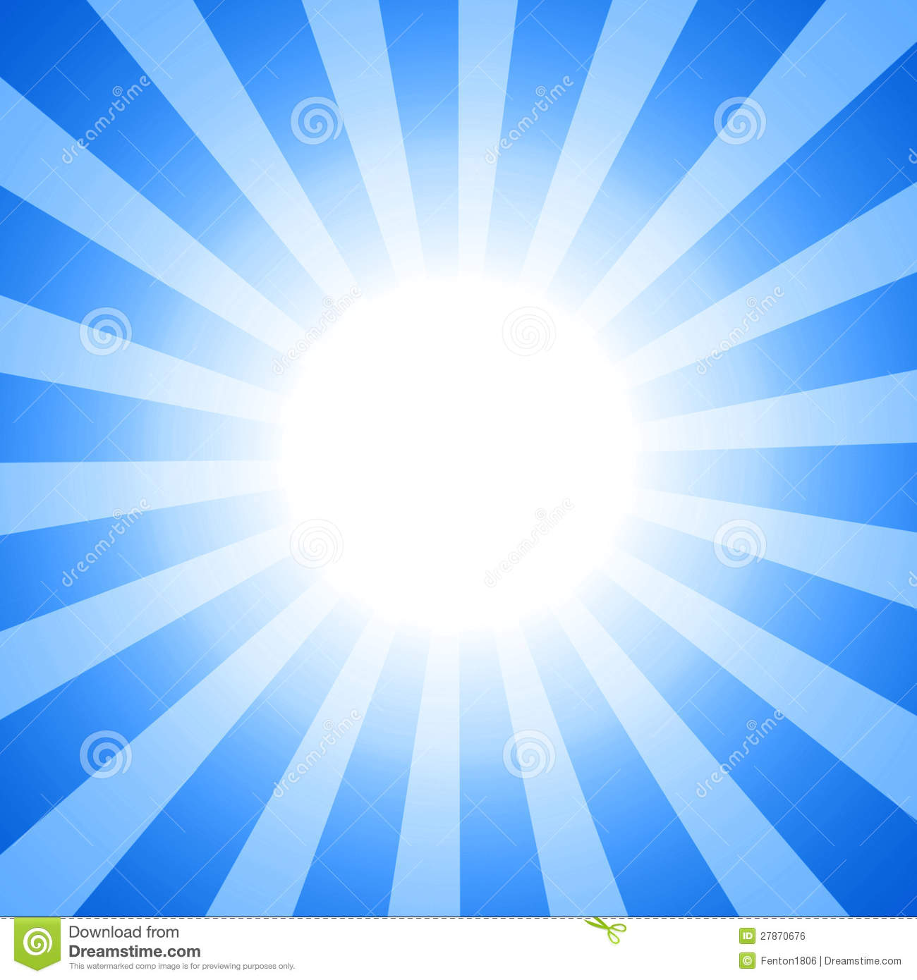 Clipart Sun Royalty Free Stock Image.