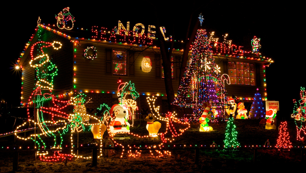Home Christmas Lights Edge Of The Plank Christmas Lights.