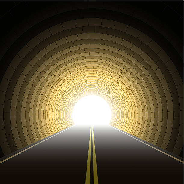 Light At The End Of The Tunnel Clipart Vector, Clipart, PSD.