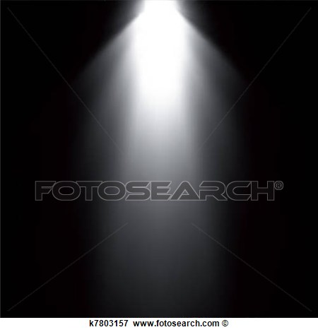 Flashlight Beam Clipart.