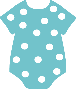 Baby Clothing Clip Art.