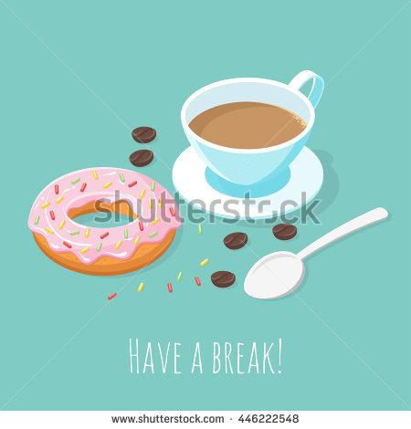 Having Coffee Break Stock Vectors, Images & Vector Art.