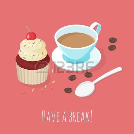 1,408 Snack Break Stock Illustrations, Cliparts And Royalty Free.