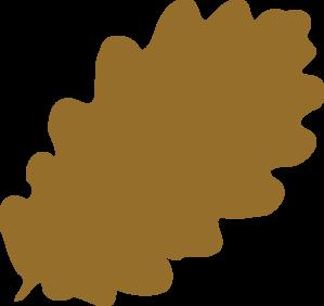 Light Brown Leaf Clip Art at Clker.com.