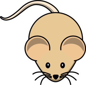Light Brown Mouse Icon, PNG ClipArt Image.
