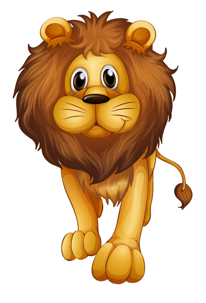 lion eating clipart #13
