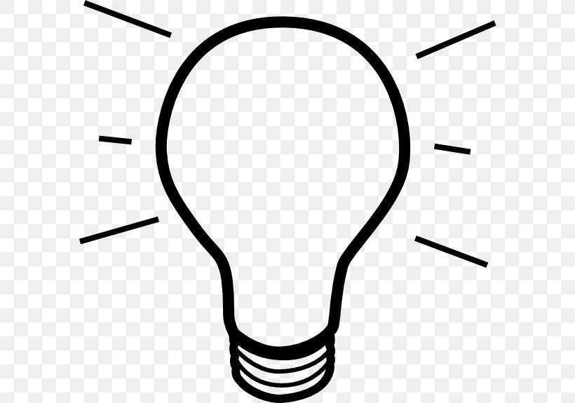 Incandescent Light Bulb Lamp Clip Art, PNG, 600x575px, Light.