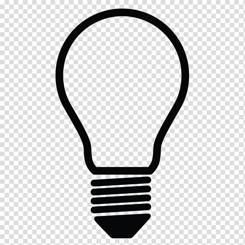 Lighting LED lamp Incandescent light bulb , bulb transparent.