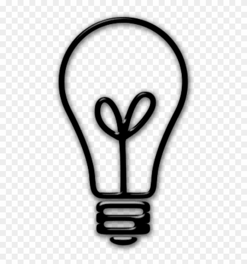 Free Png Download Lightbulb Icon Transparent Background.