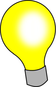 Animated Light Bulb Clipart.