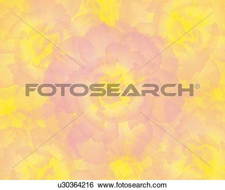 Stock Illustration of Closed Up Image of a Light Pink.