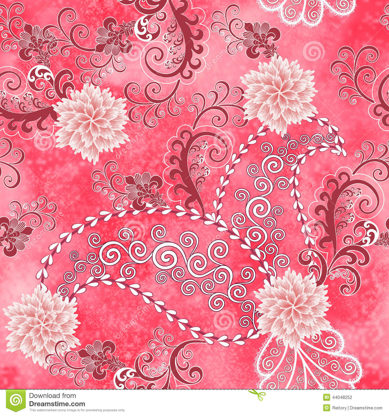 Carnations Stock Illustrations.