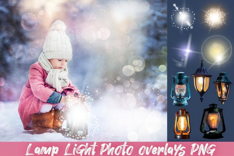 Photo overlays Photoshop lamp light clipart png lantern.