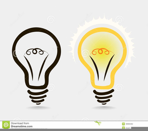 Turn Off Lights Clipart.