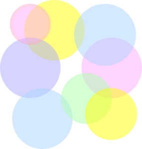 Pastel Colored Bubbles Clip Art at Clker.com.