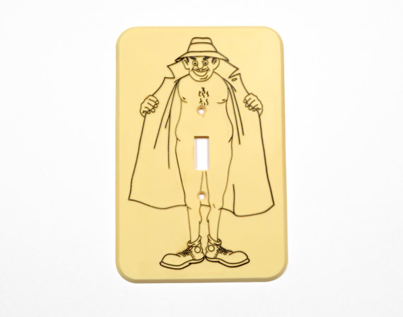 Light switch for class clipart.