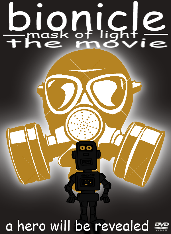 Bionicle: Mask of Light: Clip Art Cover Art.