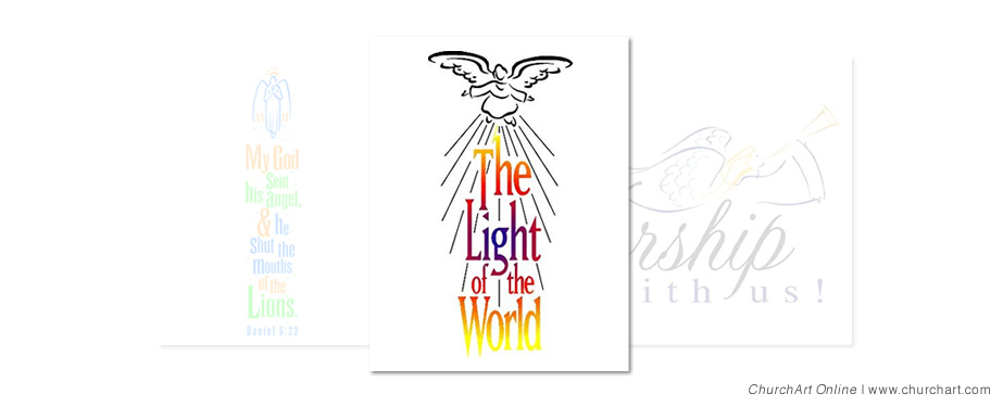 Jesus the light of the world clipart free.