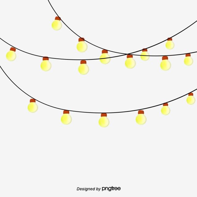 Download Free png Decorative Light String, Festival.
