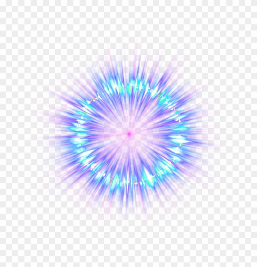 Blue Destello Picsart Light Sticker Fireworks Effect.