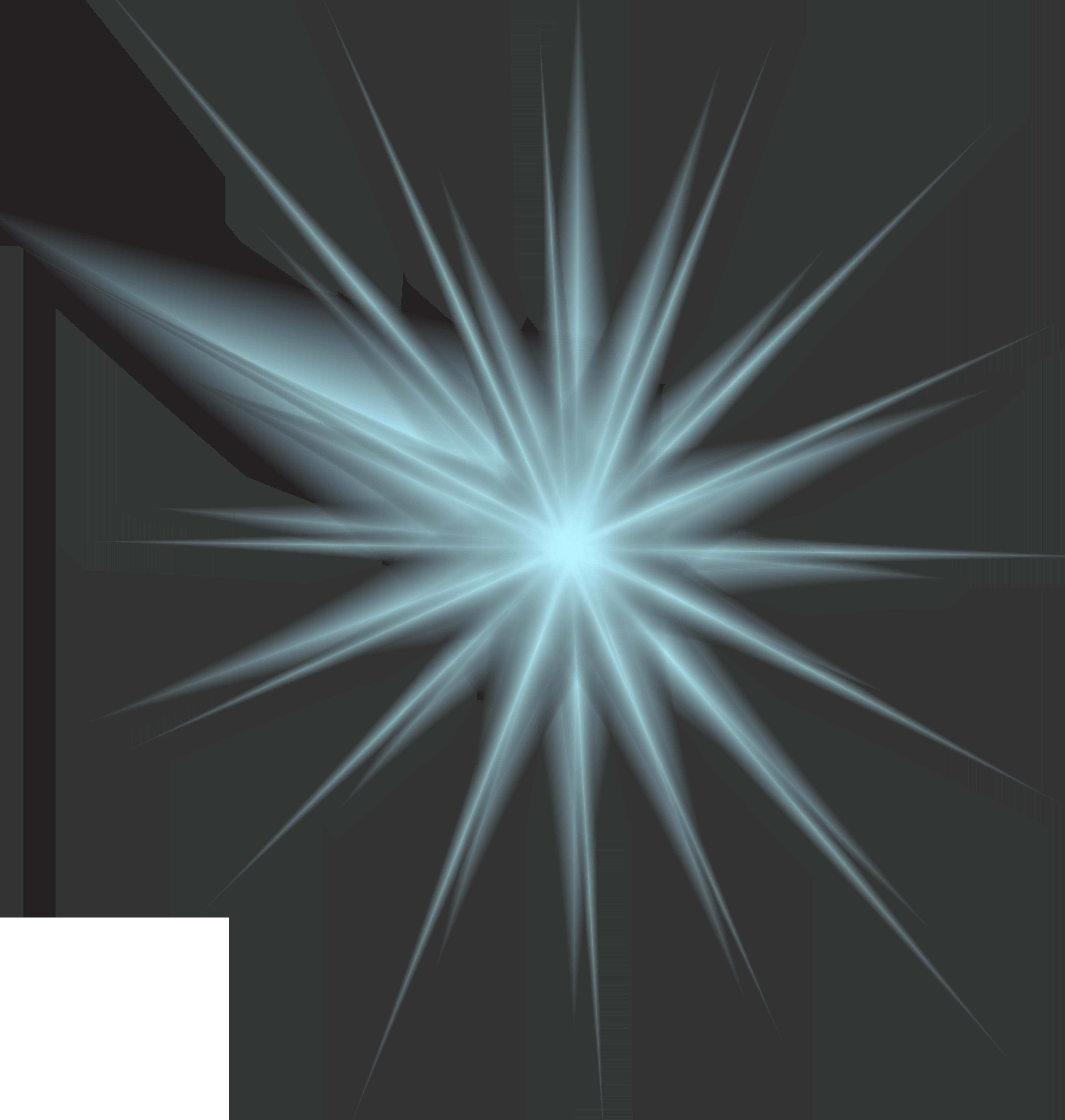 Light Blue Effect Clip Art PNG Image.