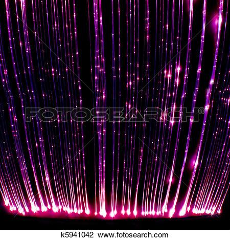 Stock Photo of Fibre optic light curtain k5941042.