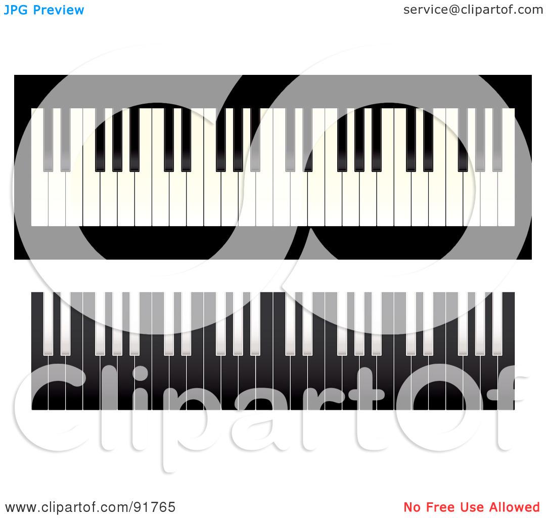 Piano Light Gray Clipart.