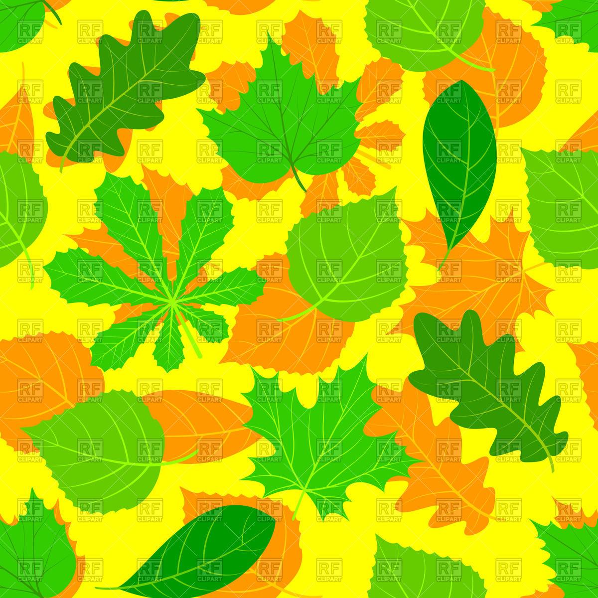 Light Green Leaves Clip Art Autumn.