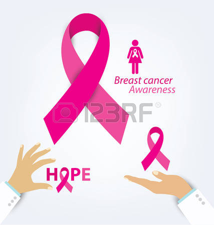 Breast Cancer Care Stock Vector Illustration And Royalty Free.