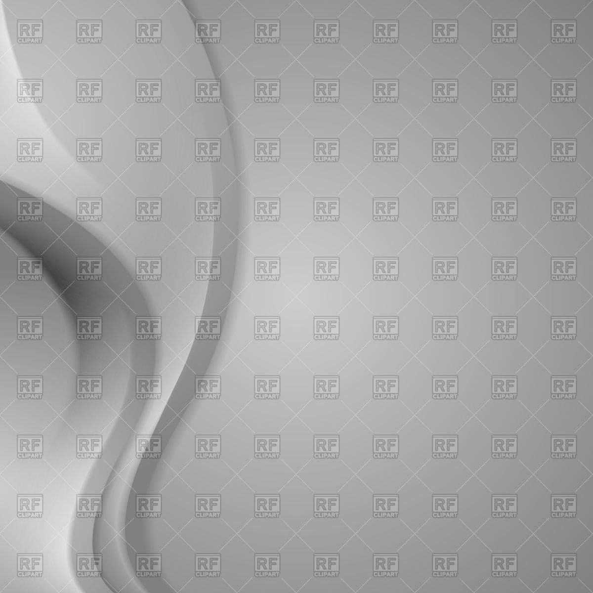 Abstract light grey wavy background Vector Image #60424.
