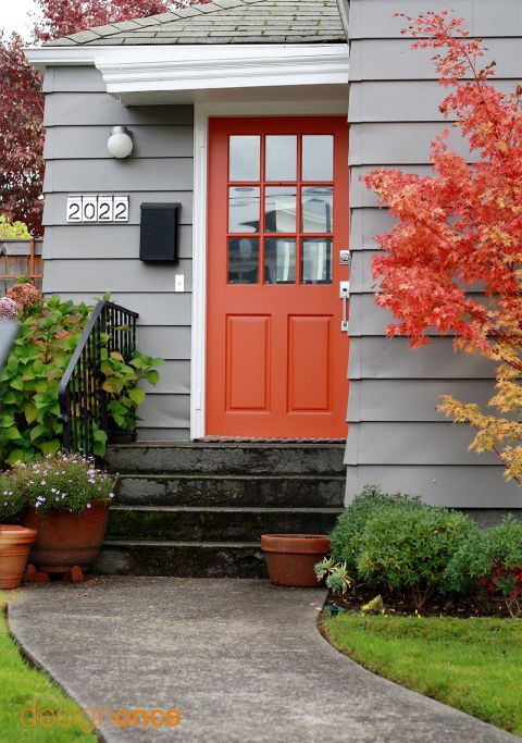 1000+ ideas about Orange Front Doors on Pinterest.