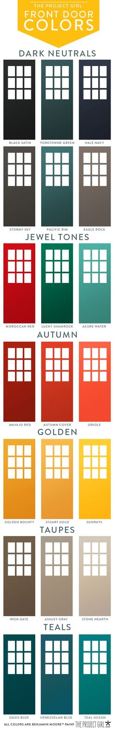 best door colors for red brick home.