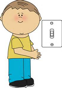 Guide Light Switch Clipart, Clip Art Illustrations, Images.